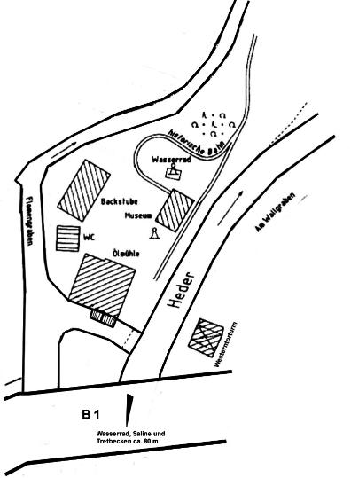 Lageplan Franz-Kleine Park